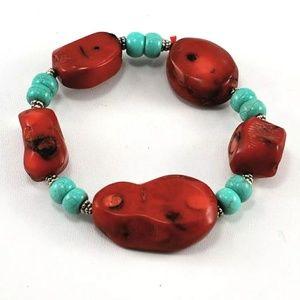 """Sundance Coral """"Turquoise Dreams"""" Bracelet"""